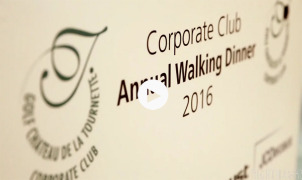 Golf Chateau de la Tournette • Annual Walking Dinner 2016